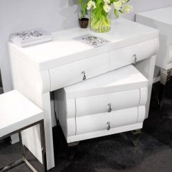 Aggy Fiókos Fésülködőasztal Fehér