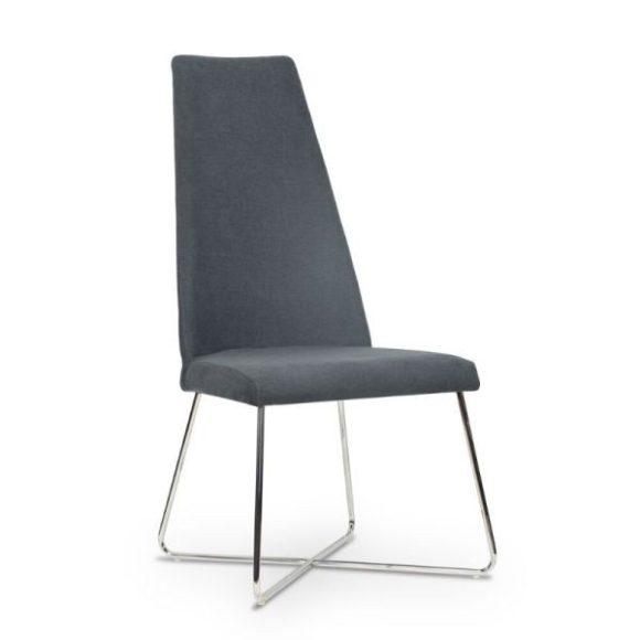 ALICE szék szürke / króm