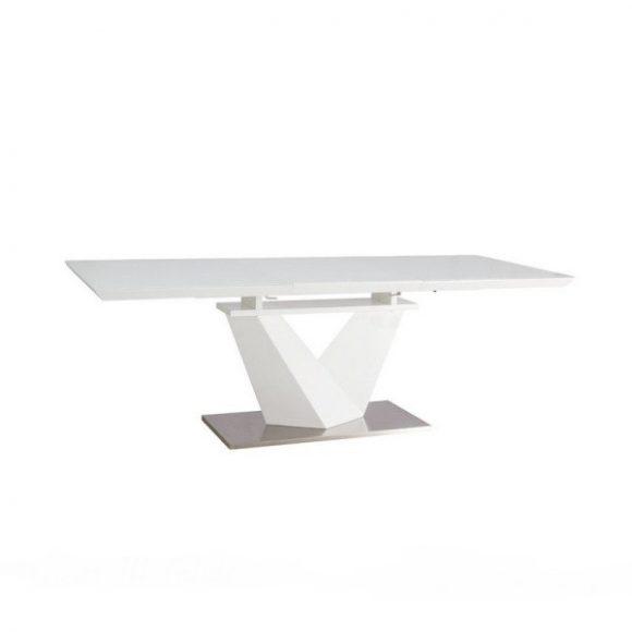 Ava III Bővíthető Étkezőasztal 160 - 220 cm / Fehér