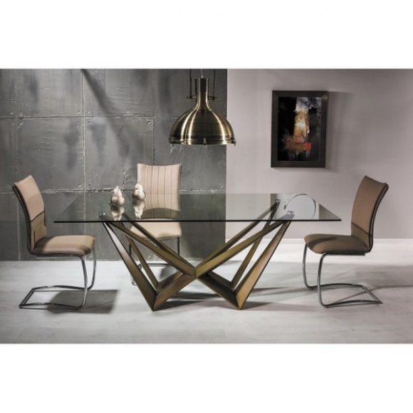 Aaron Asztal 200 cm Arany