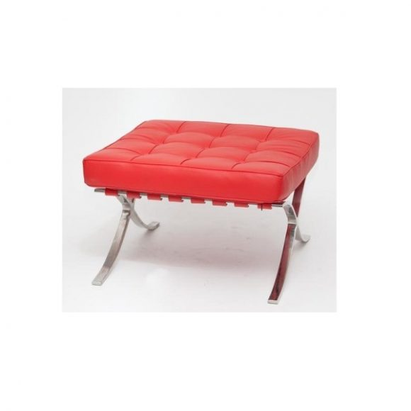 Bree TP Steppelt Bőr Pihenőszék / Piros