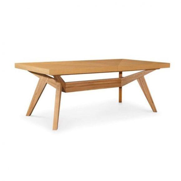 BORNEO bővíthető tölgy étkezőasztal 160-260cm