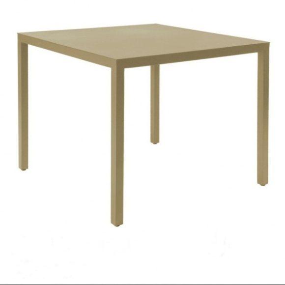 Babette Asztal 70 cm x 70 cm / Homok