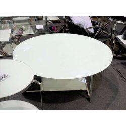 Ciera Dohányzóasztal 110 cm / Fehér