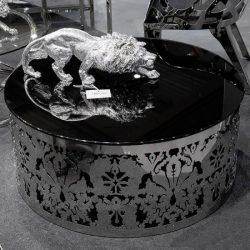 Paris Dohányzóasztal 91 cm / Fekete