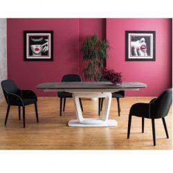 Chloe Bővíthető Étkezőasztal 140 - 200 cm / Kerámia Asztallap