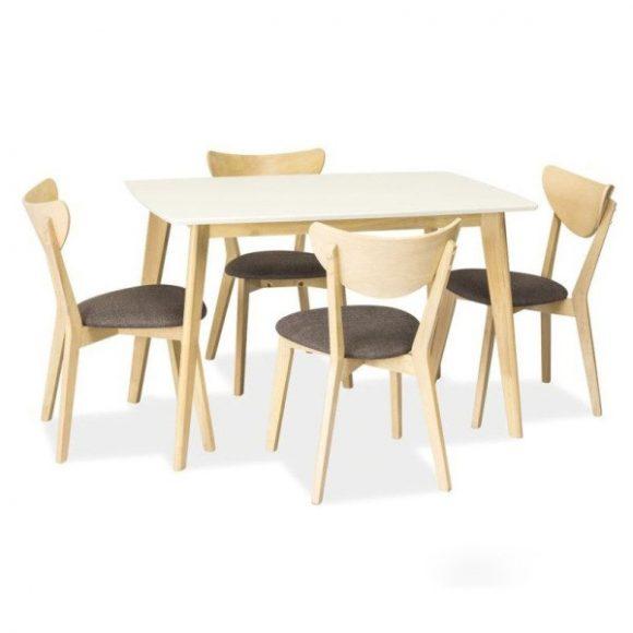 Cooper Étkezőasztal 120 cm Fehér