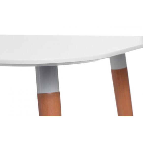 Corina 100 cm x 100 cm Asztal Fehér