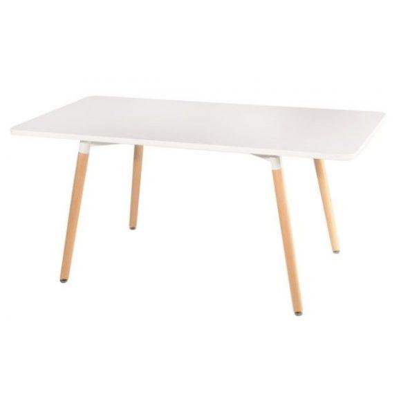 Corina 80 cm x 160 cm Asztal Fehér