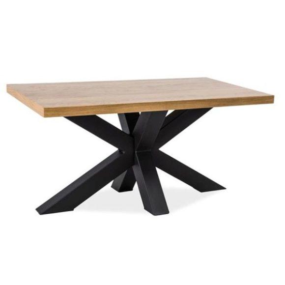 Connor Tömör Tölgyfa étkezőasztal 180 cm