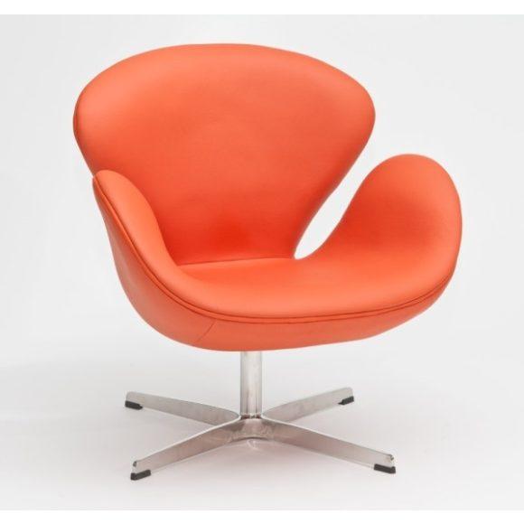 Chuck 67 Klubfotel Bőr / Narancssárga