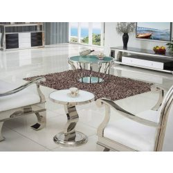 Jade Lerakóasztal 50 cm / Fehér