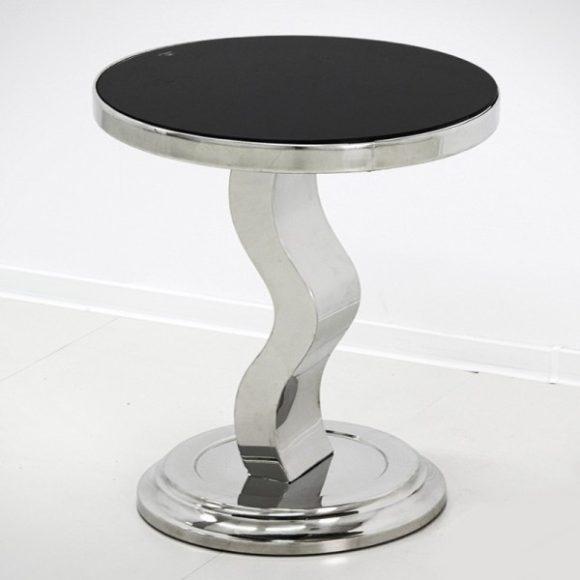 Jade Lerakóasztal 50 cm / Fekete