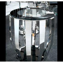 Missy Dohányzóasztal 50 cm / Ezüst