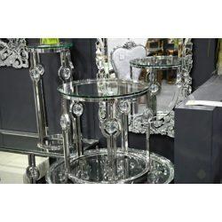 Ricky Dohányzóasztal 60 cm / Ezüst