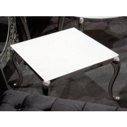 Leonard  Szögletes Dohányzóasztal 60 cm / Fehér