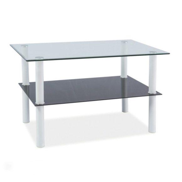 Divina Dohányzóasztal 100 cm / Fehér