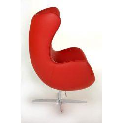 Ebby 65 Tojás Fotel Bőr / Piros