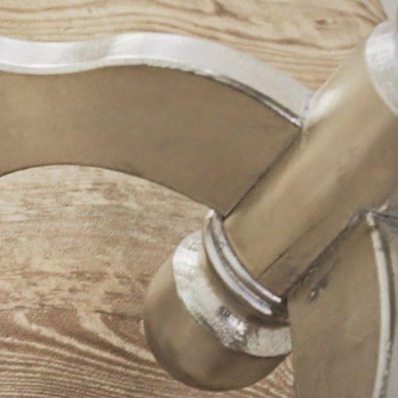 Enya Asztal 65 cm / Antikolt Ezüst