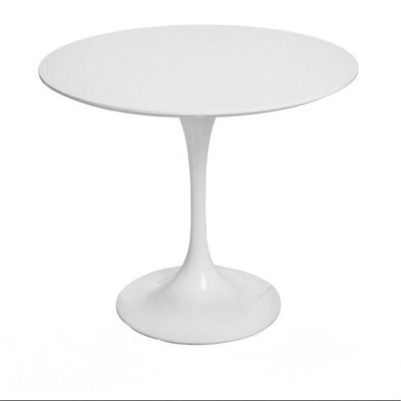 Fabian Étkezőasztal 90 cm / Fehér