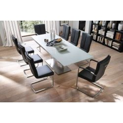 Hilda Bővíthető Étkezőasztal 180 cm - 240 cm Fehér