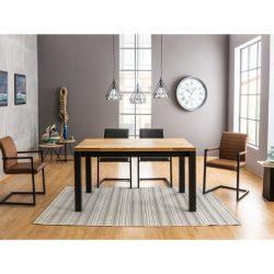 Indigo Tölgyfa Étkezőasztal 150 cm
