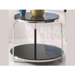 Terence Lerakóasztal 52 - 62 x 58 cm / Fekete