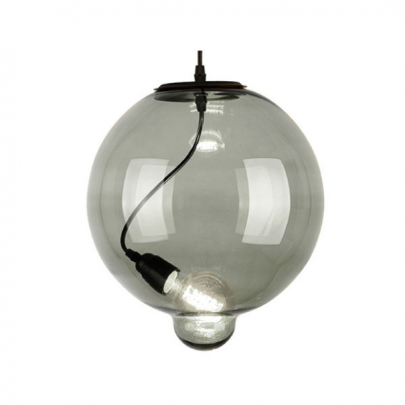 Bubble CO.5 mennyezeti lámpa víztiszta, füstös
