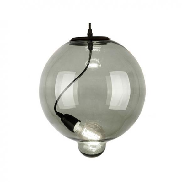 Bubble mennyezeti lámpa füstös