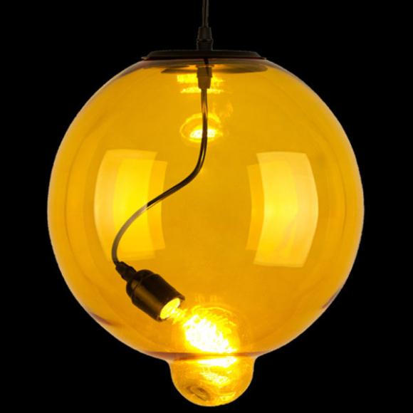 Bubble mennyezeti lámpa sárga