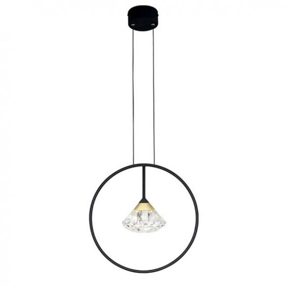 Tiffany No 1 mennyezeti lámpa fekete
