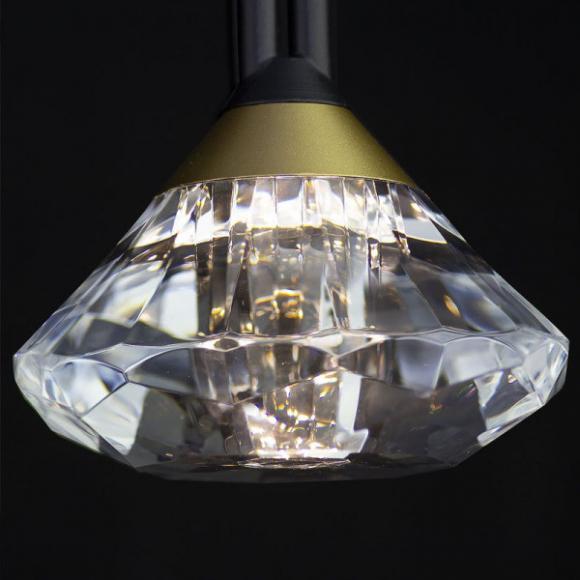 Tiffany No 1 T asztali lámpa fekete