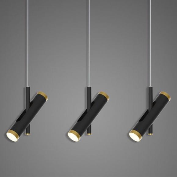 Lunette No. 4 mennyezeti lámpa fekete