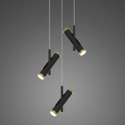 Lunette No. 3 mennyezeti lámpa fekete