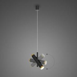 Lunette No. 1 P mennyezeti lámpa fekete