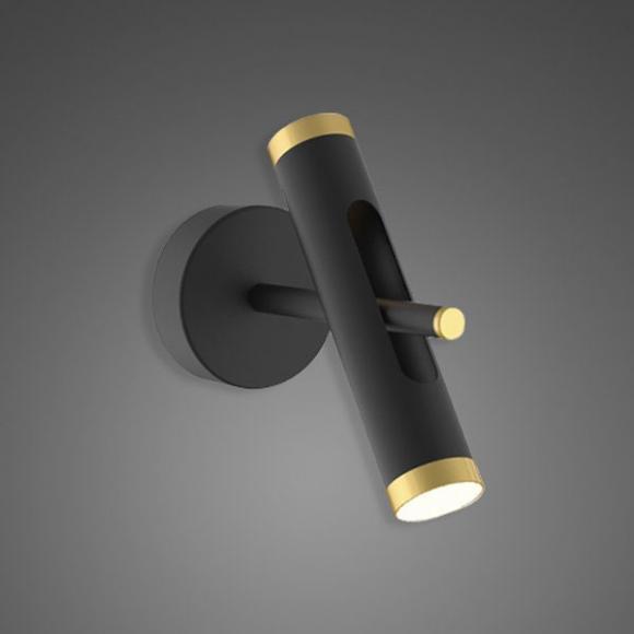 Lunette No. 1 W fali lámpa fekete
