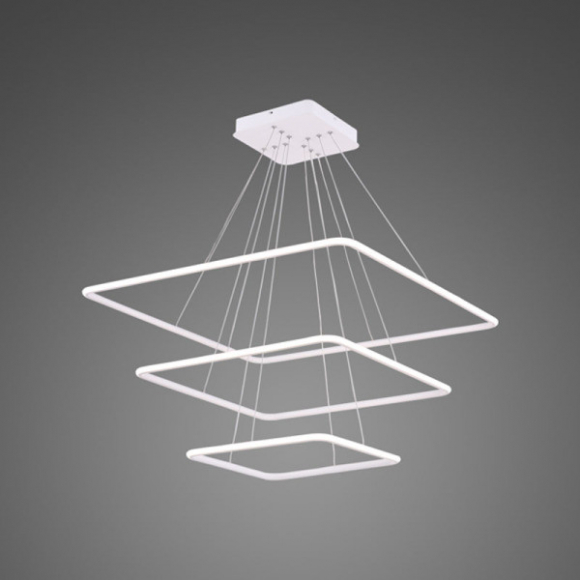 Quadrat No 3. mennyezeti lámpa fehér 80 cm
