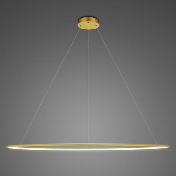 Ring LA 73 P mennyezeti lámpa arany 230 cm