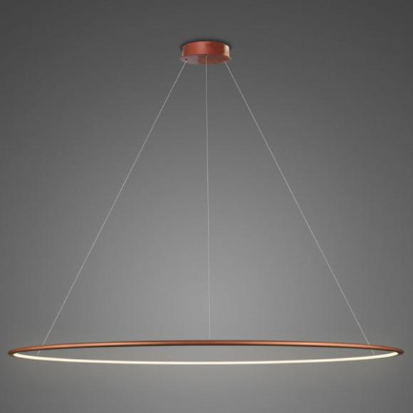 Ring LA 73 P mennyezeti lámpa réz 230 cm