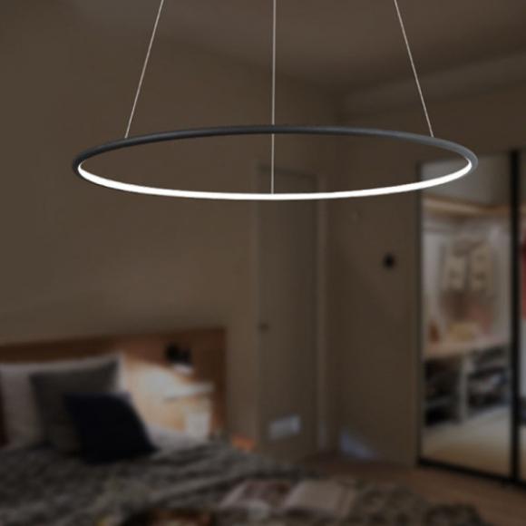 Ring LA 73 P mennyezeti lámpa fekete 60 cm