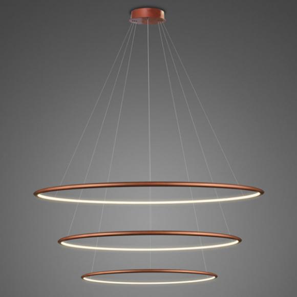 Ring No.3. mennyezeti lámpa réz 100 cm