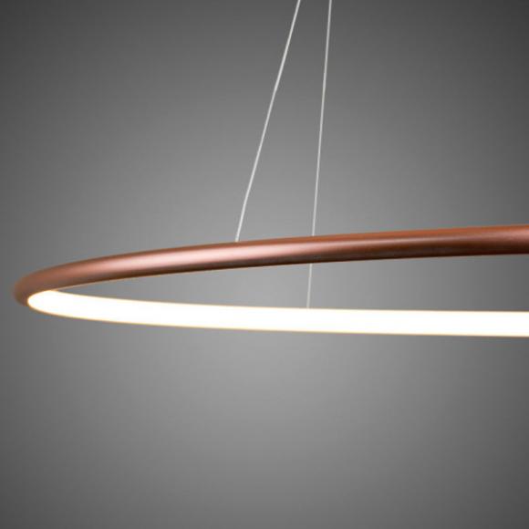 Ring No.3. mennyezeti lámpa réz 80 cm