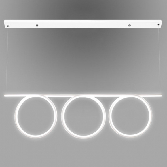 Ring No 8 mennyezeti lámpa fehér 100cm