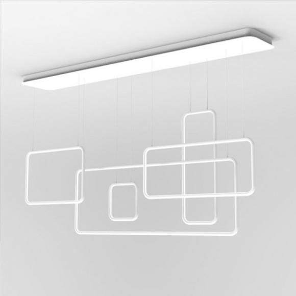 Squares 5 CL mennyezeti lámpa fehér 150cm