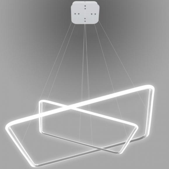 Quadrat No 2. mennyezeti lámpa fehér 80 cm