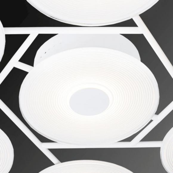 Vinyl 7 mennyezeti lámpa fehér