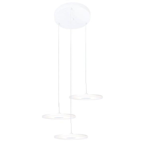 Vinyl 3 mennyezeti lámpa fehér