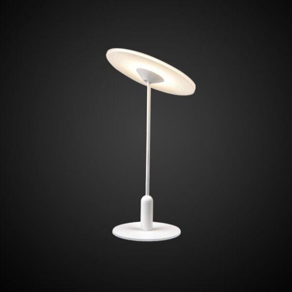 Vinyl T asztali lámpa fehér
