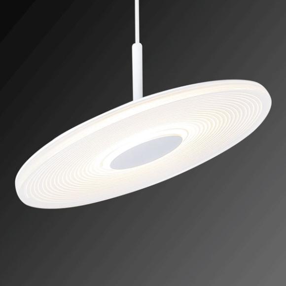 Vinyl W fali lámpa fehér