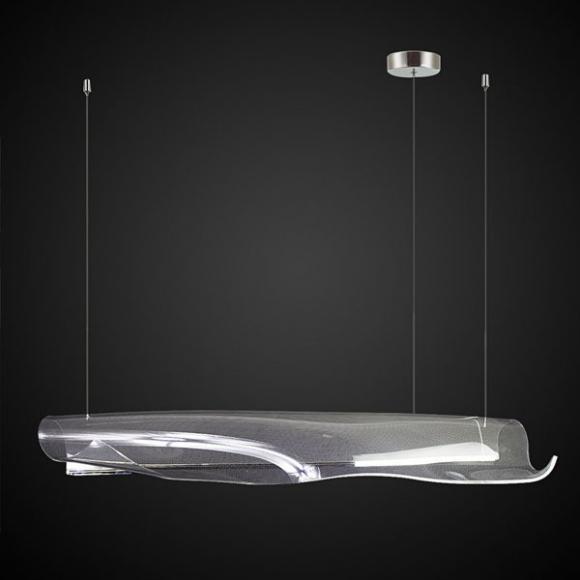 Cortina No3 138 cm mennyezeti lámpa króm